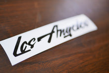 Los Angeles Vinyl Decal