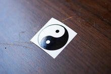 Yin and Yang Vinyl Decal