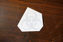Bio-hazard Vinyl Decal