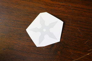 Shuriken Vinyl Decal