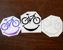 Don't Worry, Bike Happy Vinyl Decal