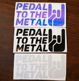 Pedal to the Metal Vinyl Decal