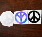 Peace Vinyl Decal