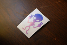 Peace Alien Vinyl Decal