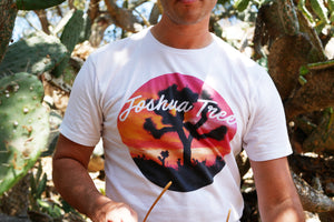Limited Edition Joshua Tree Color Print White T