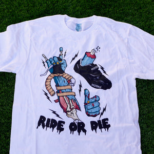 """Ride Or Die"" LIMITED EDITION Color Print XL T - LAST IN STOCK"
