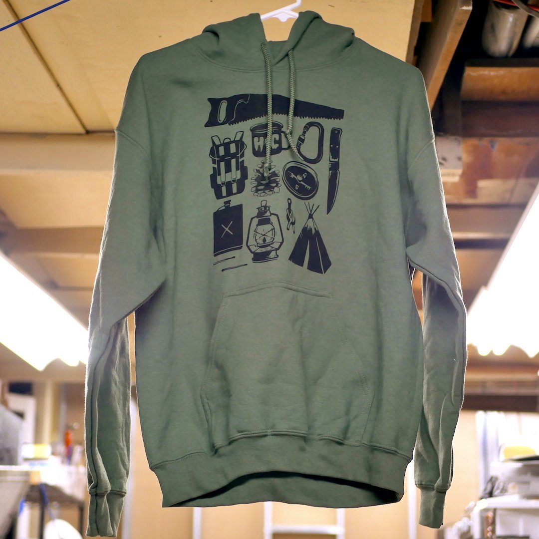 Limited Edition Camp Life Hoodie (Only 5 available)