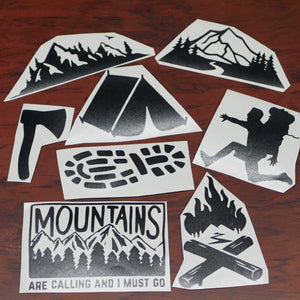 The Mountains Are Calling 8 Pack (Only 4 left!)