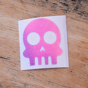 Limited Edition Skull Vinyl Decal