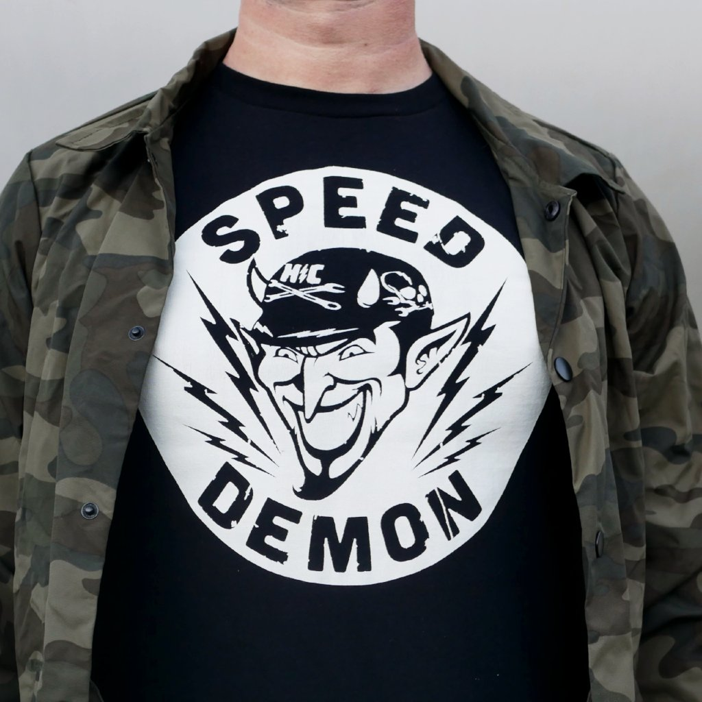 Limited Edition Speed Demon T (Only 1 XL tee left!