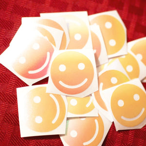 Limited Edition Happy Face Vinyl Decal