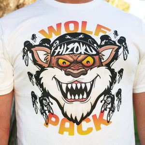 """WOLF PACK"" LIMITED EDITION Color Print White T"