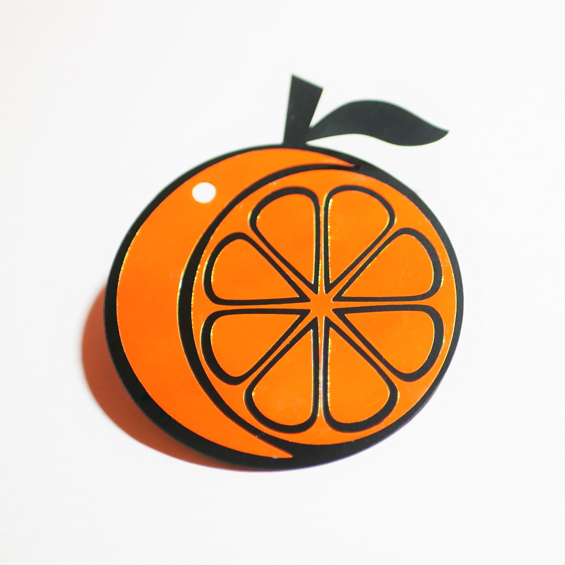 "Limited Edition 3x3"" Orange Reflector"