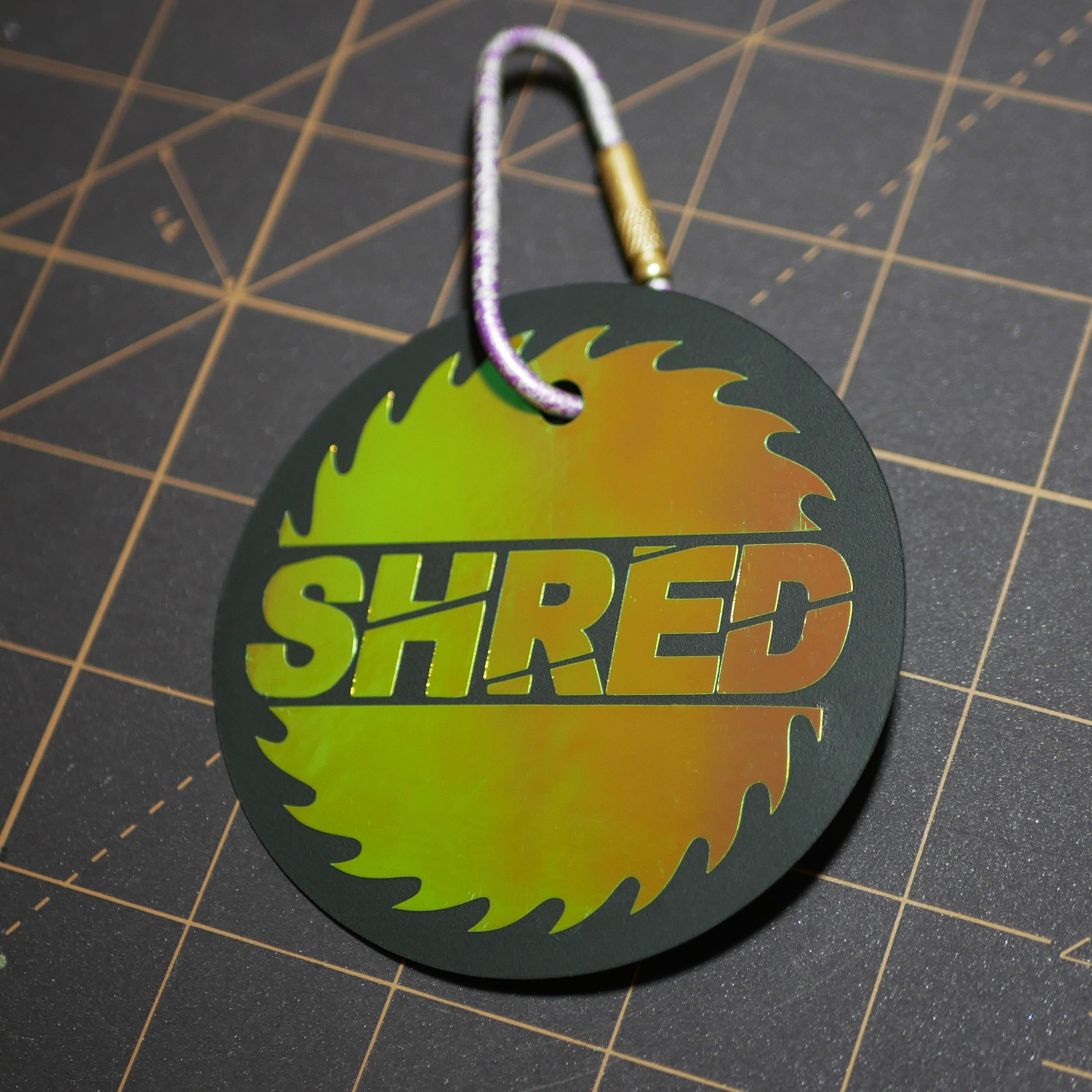 "Limited Edition 3.2x3.2"" SHRED Holographic Reflector"
