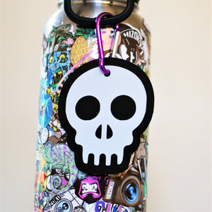 "Limited Edition 2.5x3.5"" Skull Reflector"