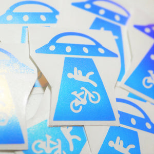 Limited Edition UFO Vinyl Decal