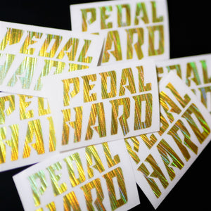 Limited Edition Pedal Hard Vinyl Decal