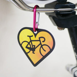 "Limited Edition ""Bike Love"" Reflector"