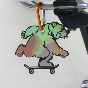 "Limited Edition ""Skater Bear"" Reflector"