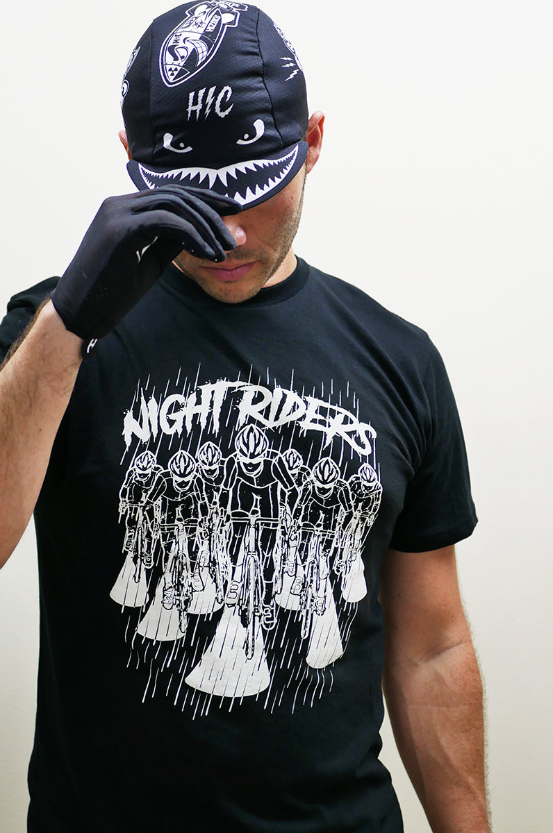"Limited Edition ""Night Riders"" T + Free Reflective Decal"