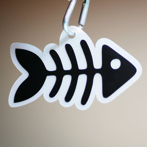 "Limited Edition ""Fish Bones"" Reflector"
