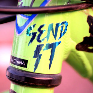 "Limited Edition ""SEND IT"" Vinyl Decal"