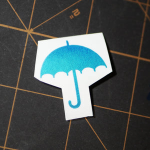 "Limited Edition ""Umbrella"" Vinyl Decal"