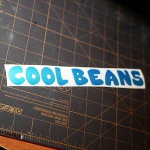 "Limited Edition ""Cool Beans"" Vinyl Decal"