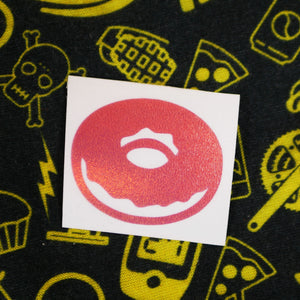 "Limited Edition ""Donut"" Vinyl Decal"