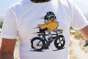 """Biking Viking"" Color Print T by Edmer Cadenas"