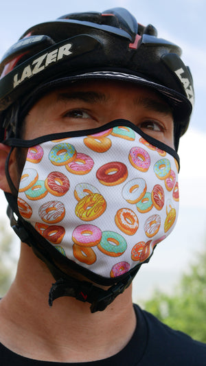 Donut Pattern Mask