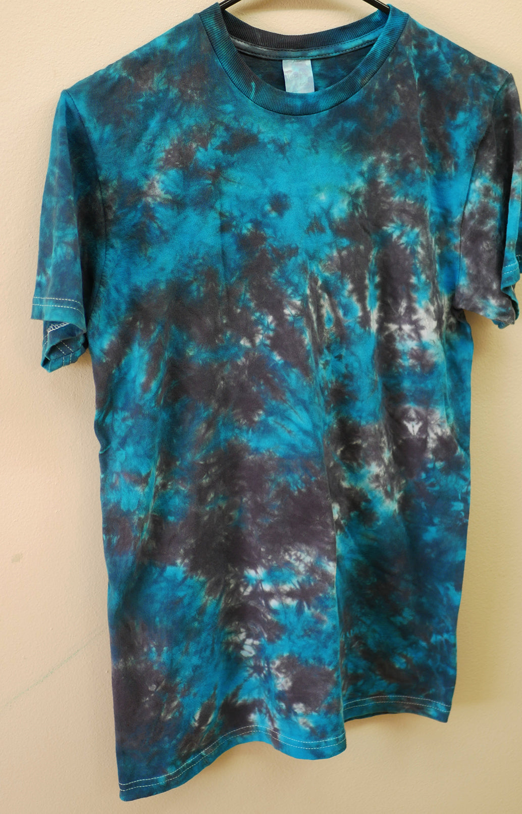 Blue & Black Abyss Tie-Dyed T