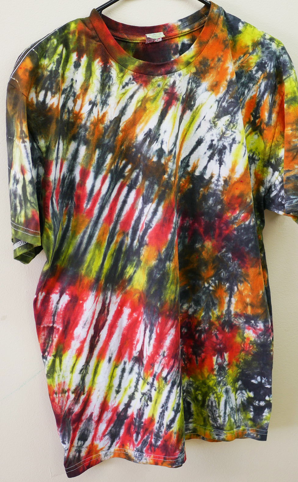 Sunset Tiger Tie-Dyed T