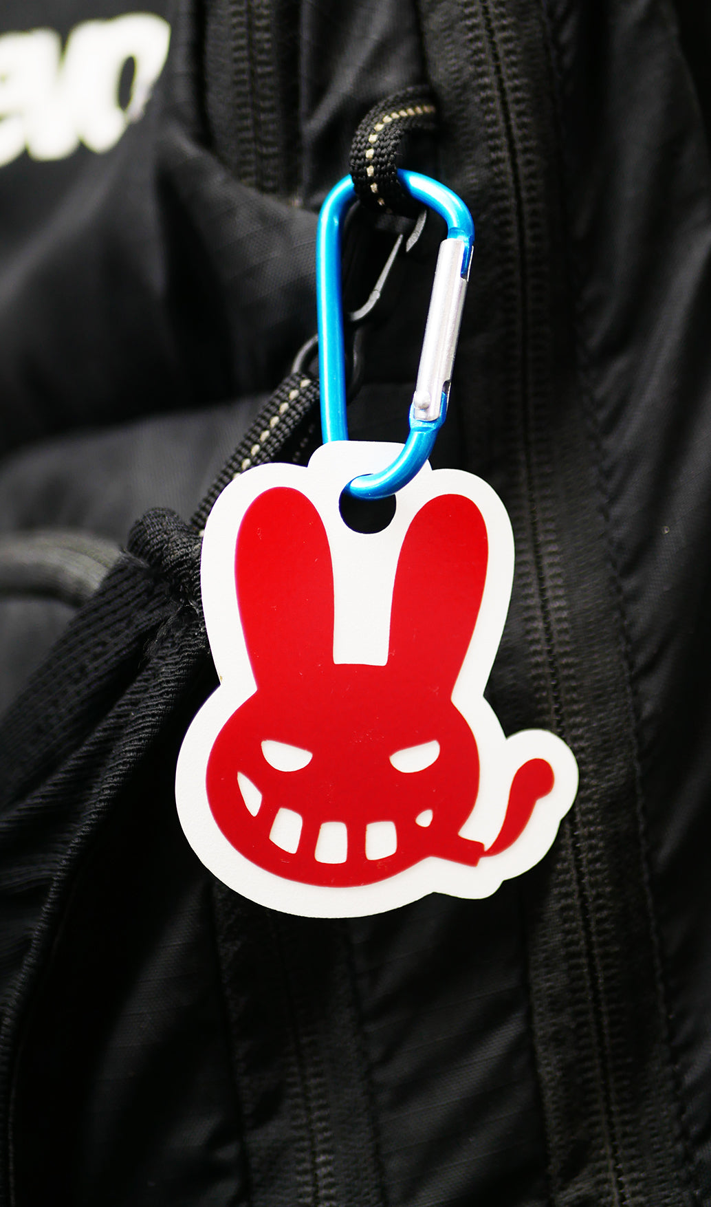 """Bad Bunny"" Safety Bike Reflector"