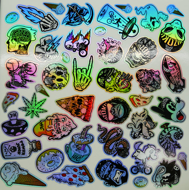 Holo Stoner Vinyl Waterproof Sticker
