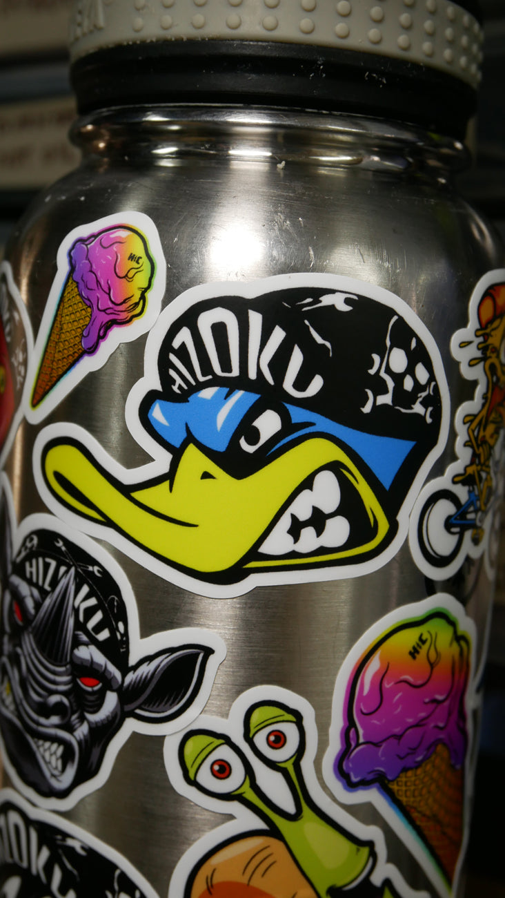 Color Mighty Duck Sticker
