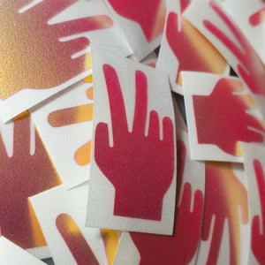 "Limited Edition ""Deuces"" Vinyl Decal"