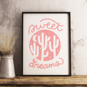 """Sweet Dreams"" 13 x 19 Poster Print"