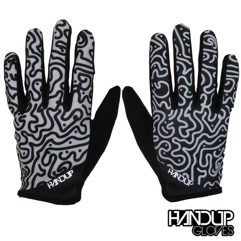 XL Pedal Hard Switch Back Full Finger Gloves (LAST IN STOCK)