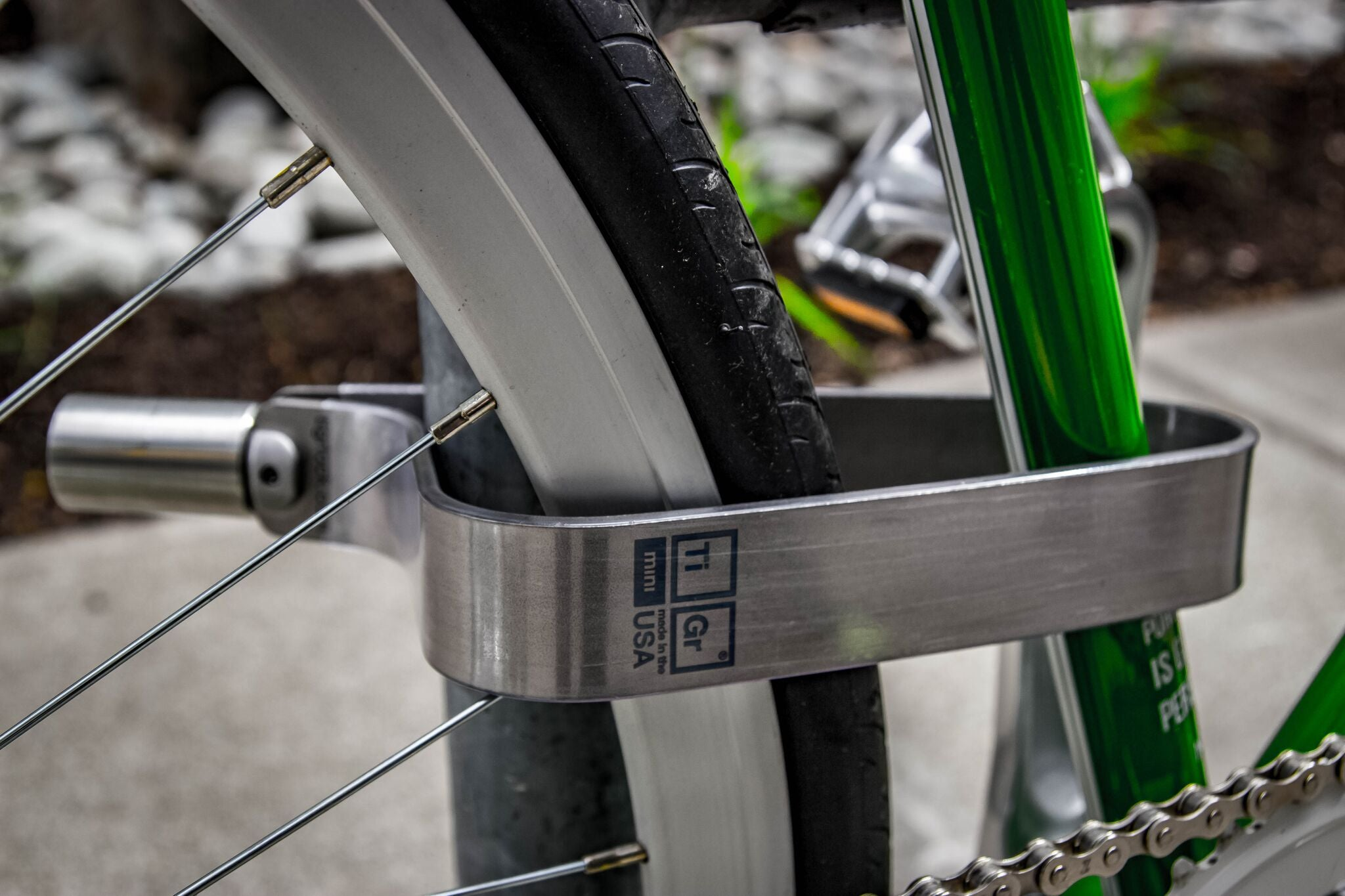 Tigr Mini Titanium Bike Lock