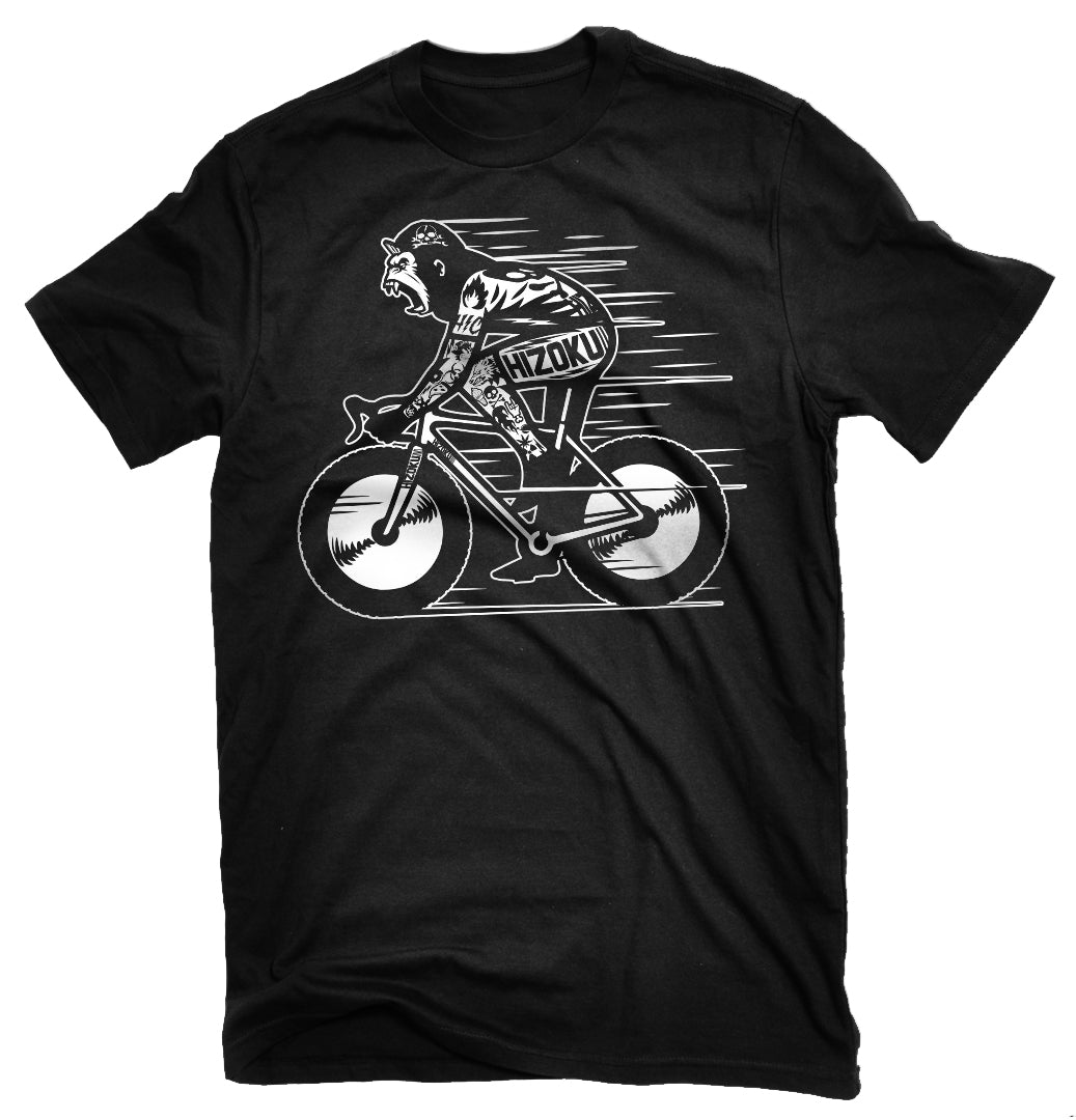 "Limited Edition ""Gorilla Fat Biker"" T + Free Reflective Decal"