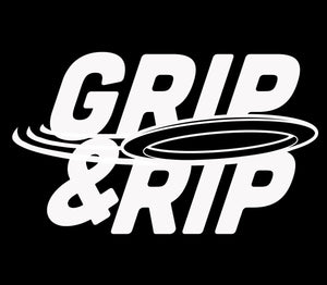 "Limited Edition ""Grip & Rip"" T + Free Decal"