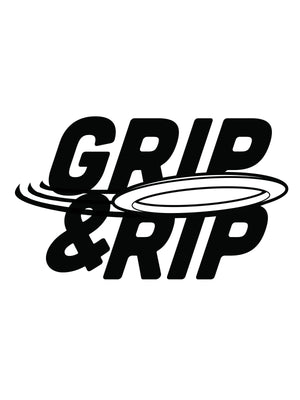 "Limited Edition ""GRIP & RIP 13 x 19 Poster Print"