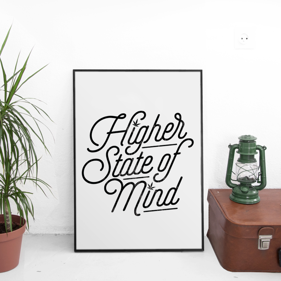 Higher State of Mind 13 x 19 Poster Print