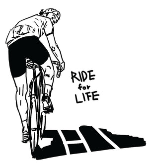 "Pre-Order our ""Ride for Life"" T by Jung Chemin"