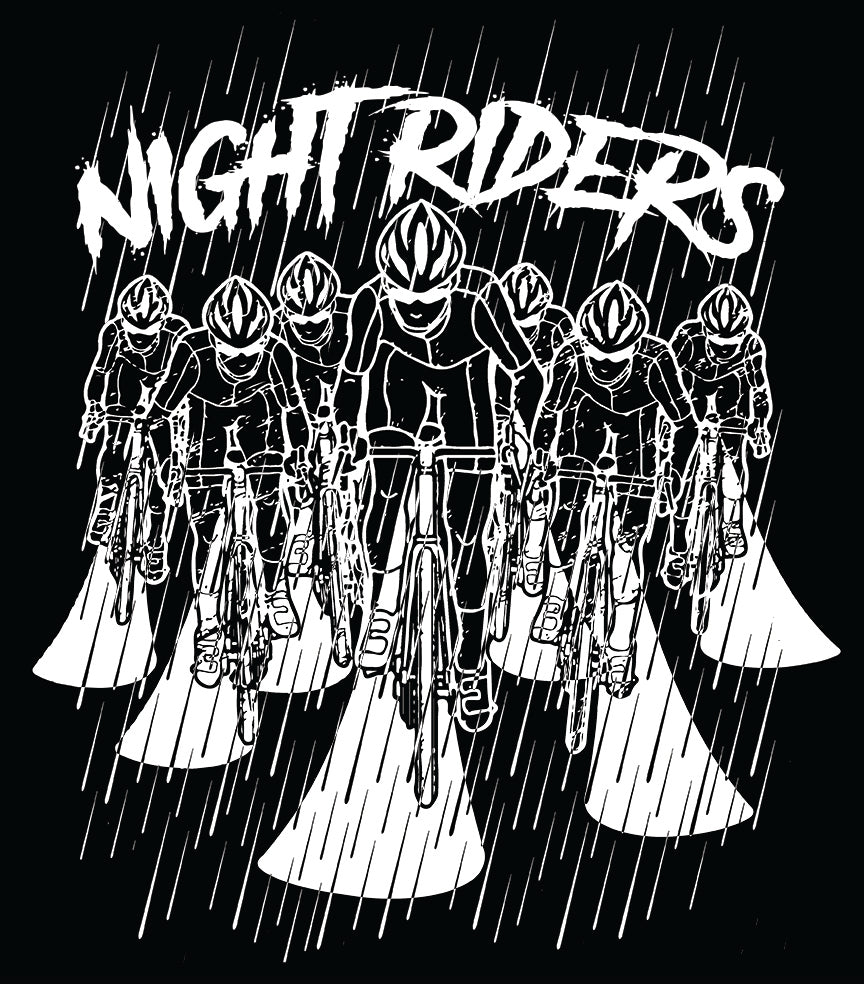"Pre-Order Limited Edition ""Night Riders"" T + Free Reflective Decal"