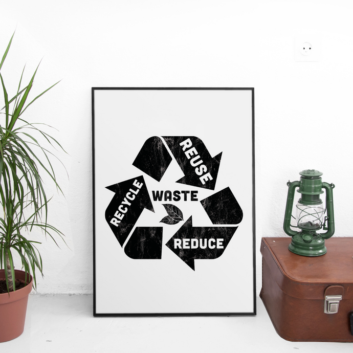 Recycle 13 x 19 Poster Print