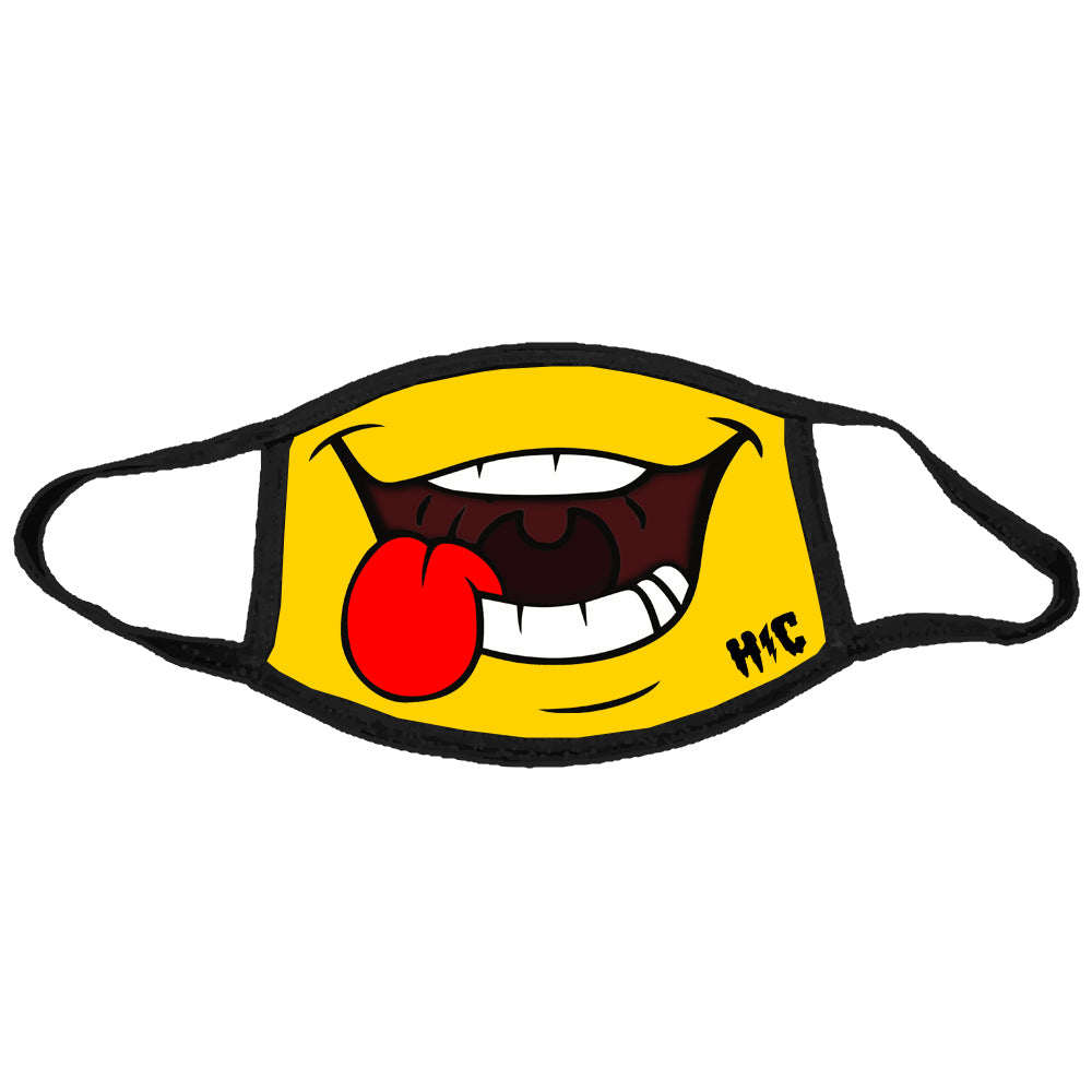 Cartoon Smiley Mask
