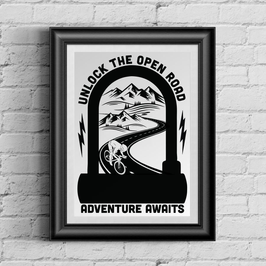 Limited Edition Unlock Adventure 13 x 19 Poster Print