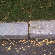 Stone Block Edging